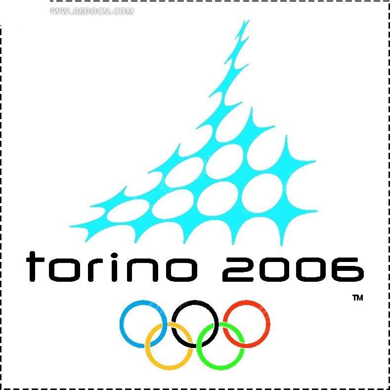 奥运会标志logo设计矢量图_行业标志
