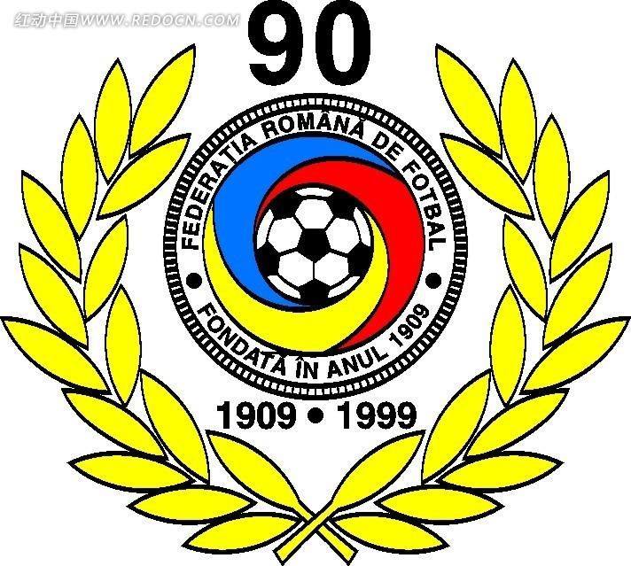 足球协会logo矢量设计图片