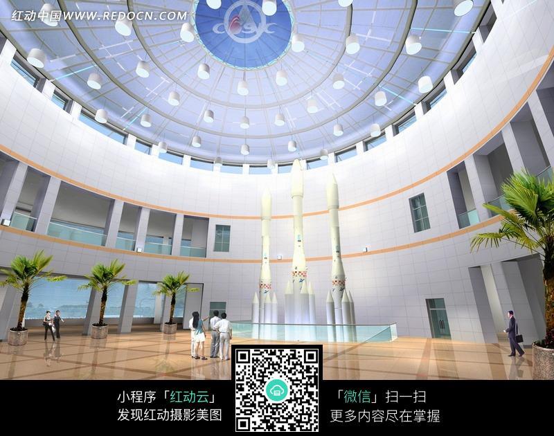 大型圆形展厅设计