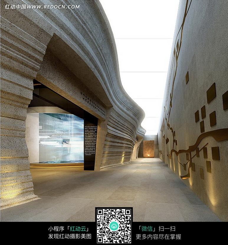 免费素材 图片素材 环境居住 展览展厅 艺术个性展厅设计