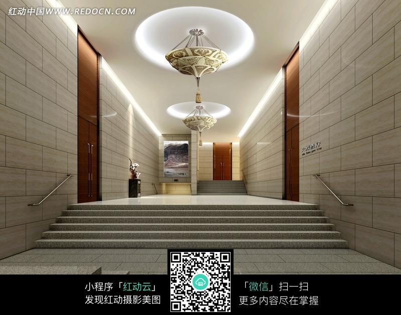 简欧风格走廊设计图片