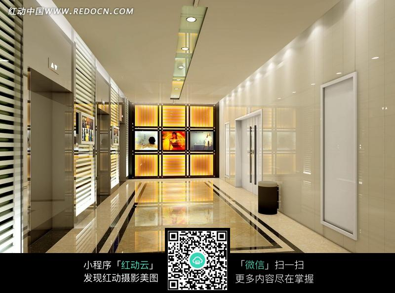 关键词:商场室内效果图空间设计电梯间时尚个性jpg; 关键词:商场室内图片