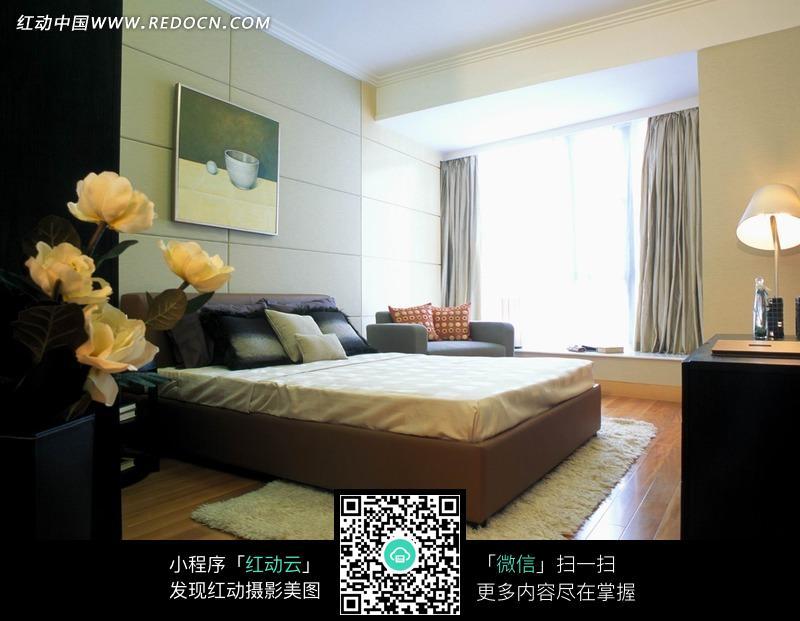 宾馆卧室装修效果图