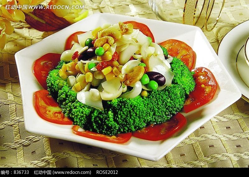 满园春色 西兰花菜图片