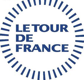 LE TOUR DE FRANCE法兰西巡回赛标志矢量素材