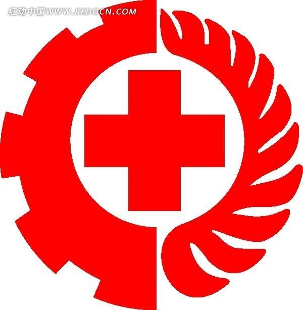 红十字标志矢量素材矢量图