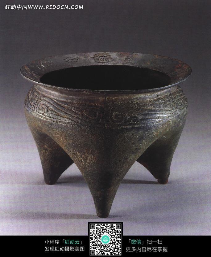 古代青铜食器鬲