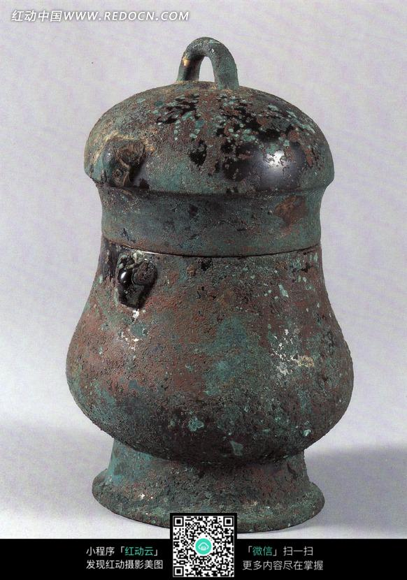 古代装水的青铜容器图片