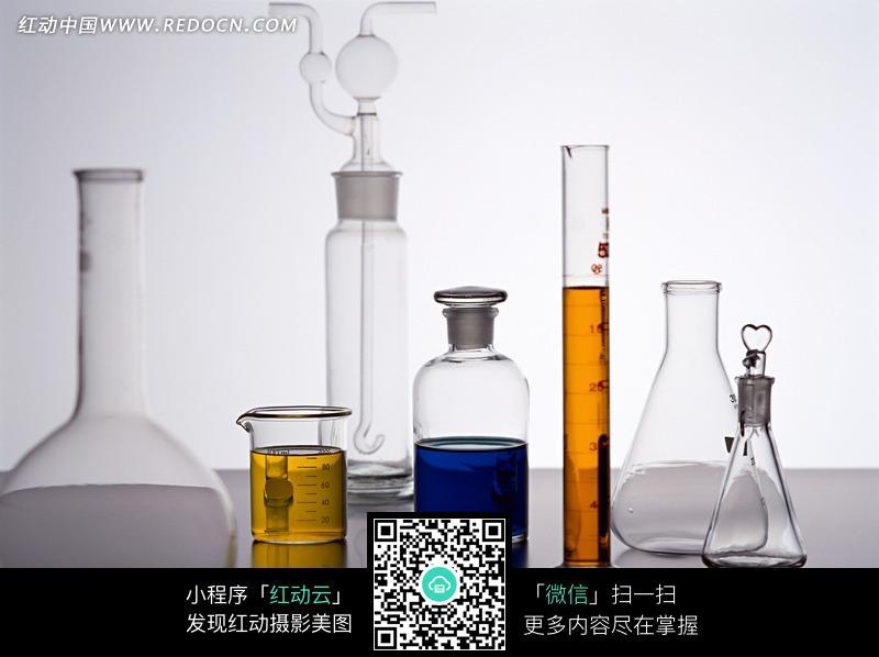 实验_实验室用的各种玻璃容器