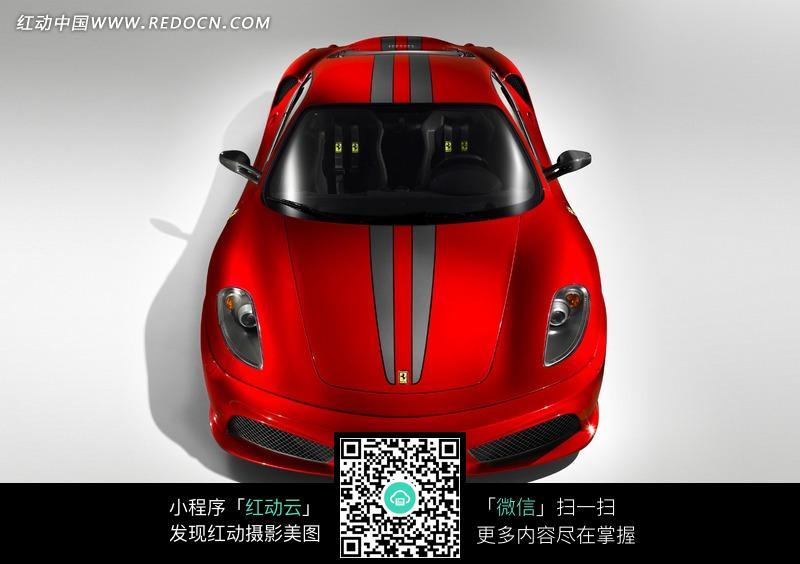 红色法拉利轿车图片 高清图片