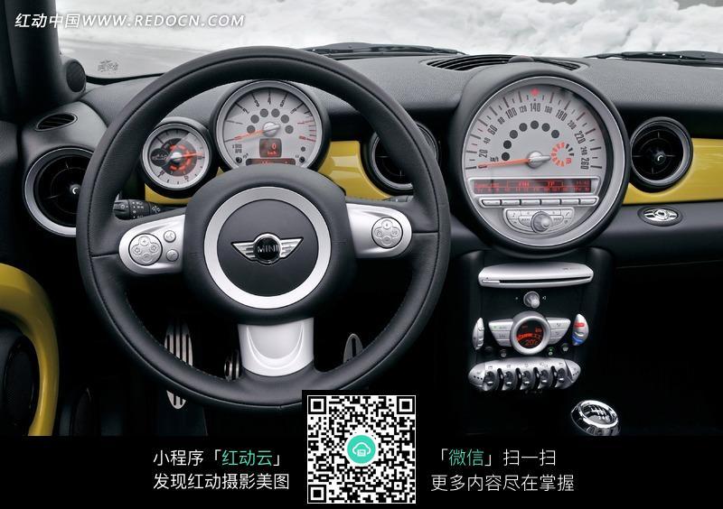 宝马mini汽车方向盘效果图图片