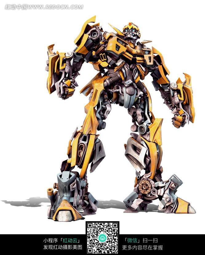 变形金刚机器人造型-大黄蜂图片
