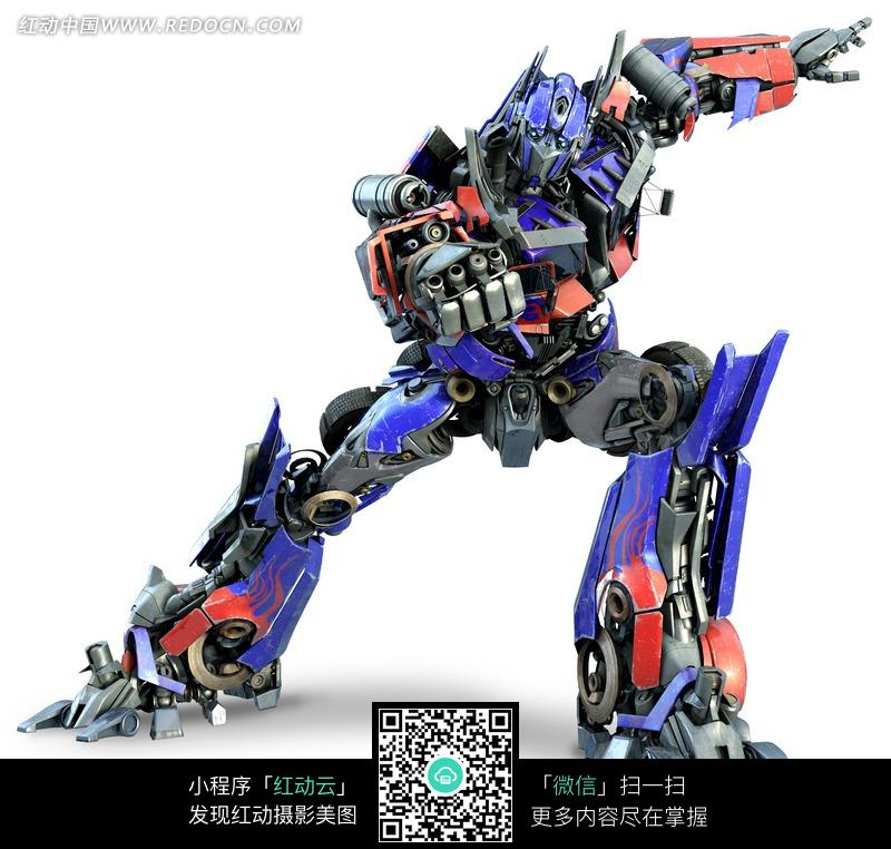 出拳的变形金刚机器人擎天柱图片免费下载 编号870947 红动网