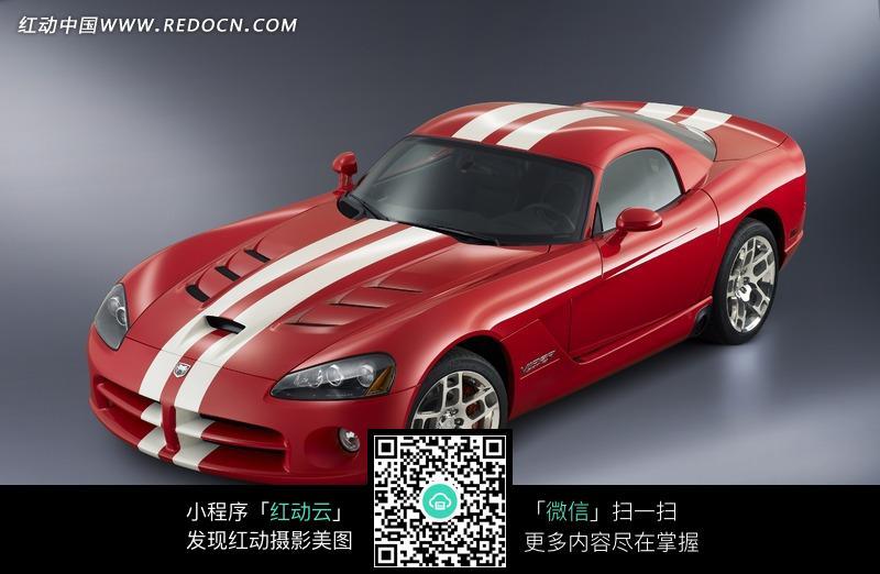 道奇蝰蛇汽车俯视图片高清图片