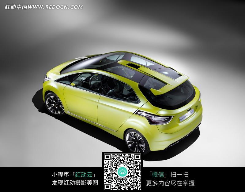 福特iosis max概念车俯视图高清图片