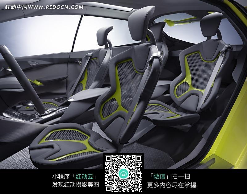 福特iosis max概念车座椅高清图片