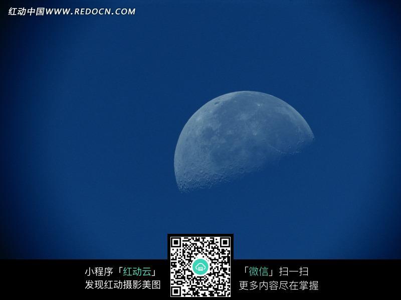 月亮照片图片_自然风景图片