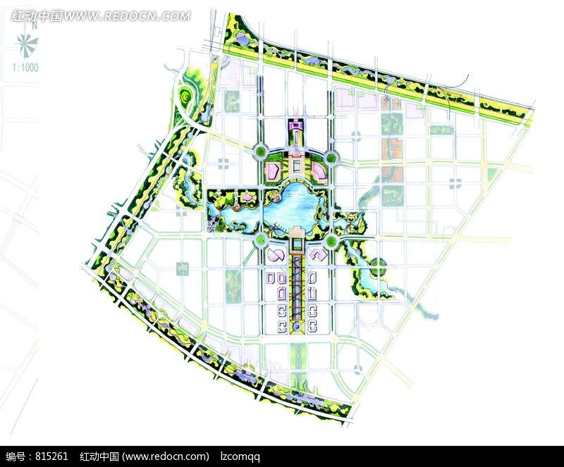 地图 平面图 设计图 效果图 800_663