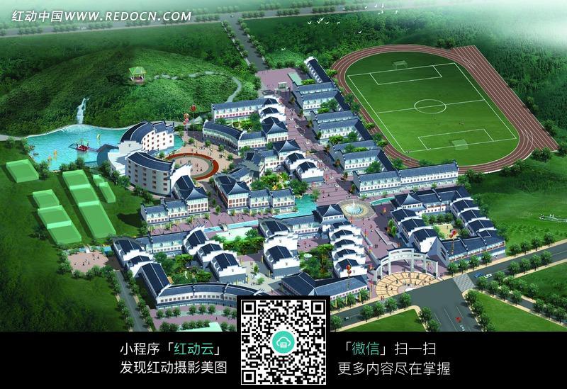 校园规划图片_建筑设计图片