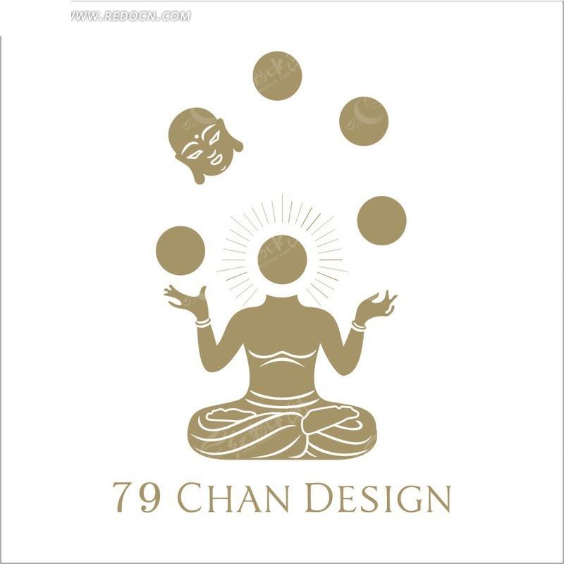 79 chan design创意设计公司标志设计图片
