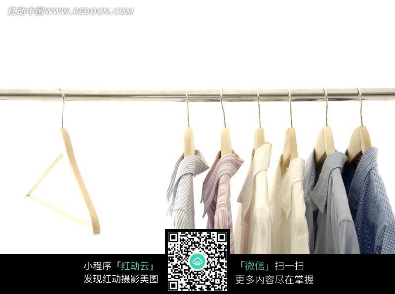 男士衬衫 衣架 购物 消费