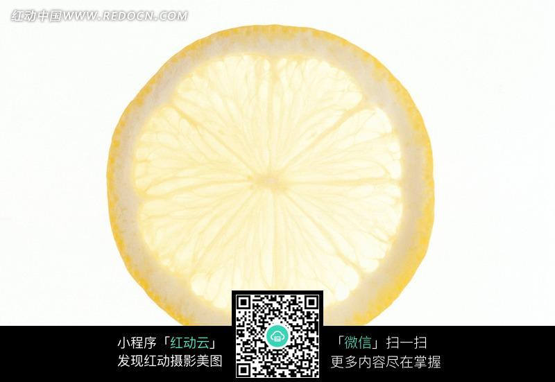一片柠檬片
