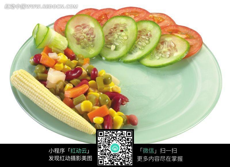 简单的蔬菜拼盘图片_水果蔬菜图片