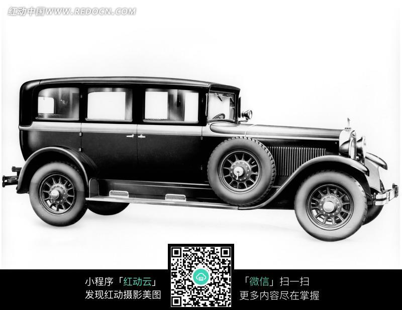 白背景黑色老式奥迪汽车侧影图片 现代科技图片 886633高清图片