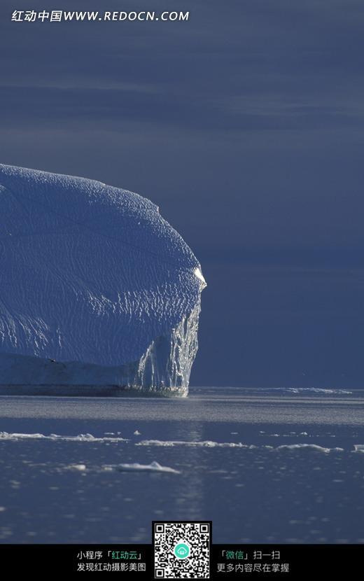 免费素材 图片素材 自然风光 自然风景 北极冰川的冰块