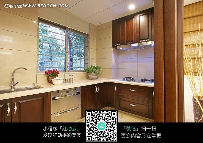 厨房设计效果图图片_室内设计图片