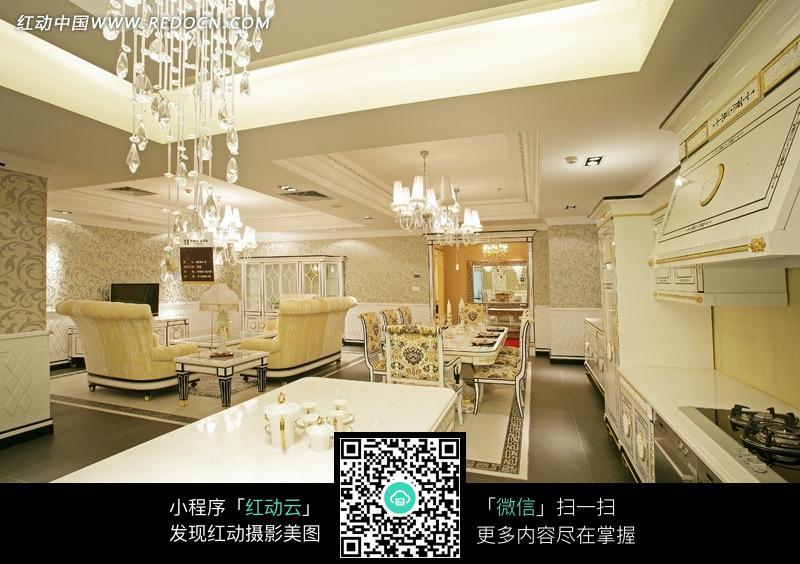 欧式风格室内餐厅家居室内设计图片图片