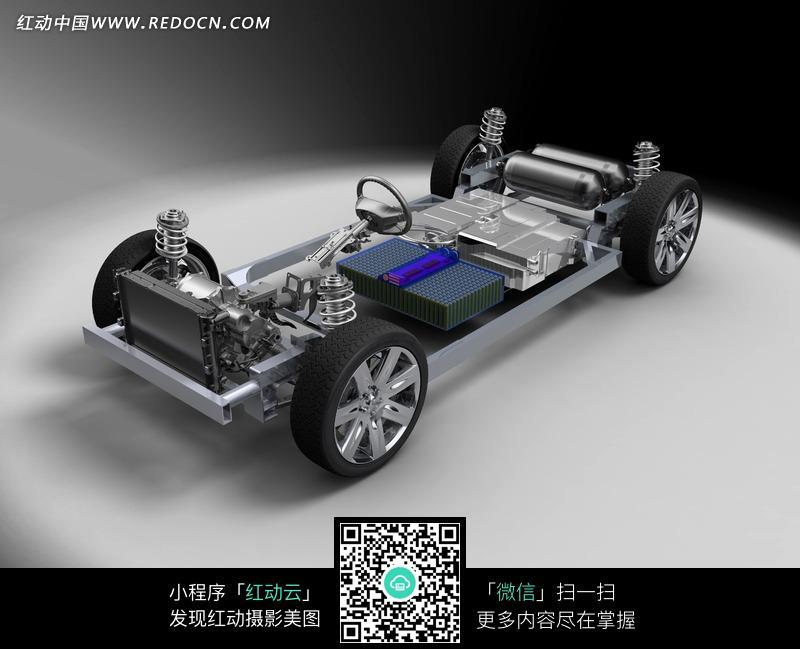 汽车底盘结构效果图图片