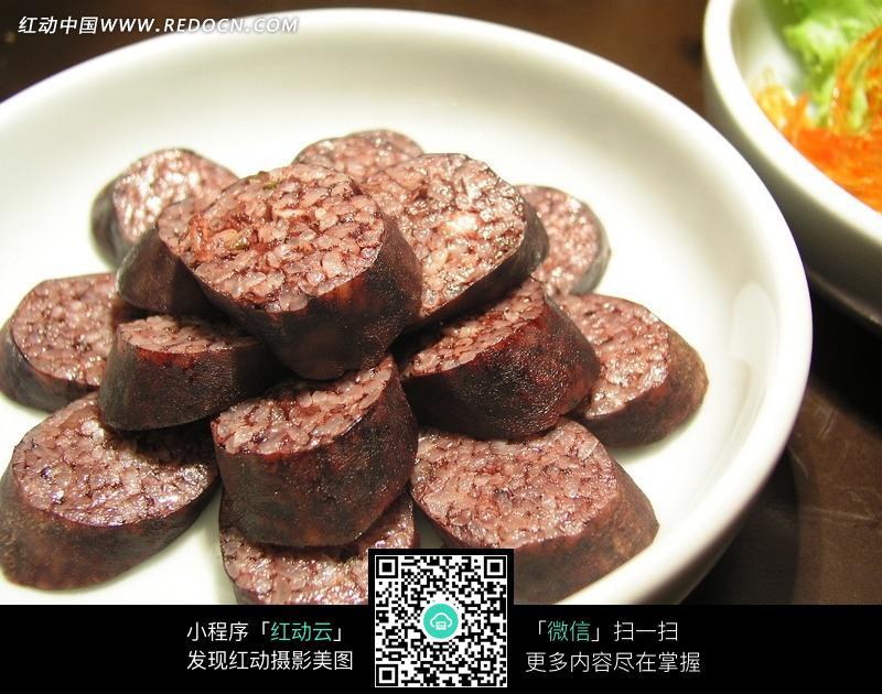 手工制作假食物米肠
