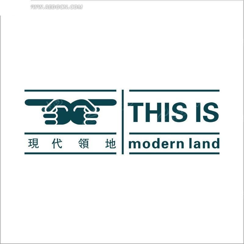 高档房地产标志 矢量房地产标志