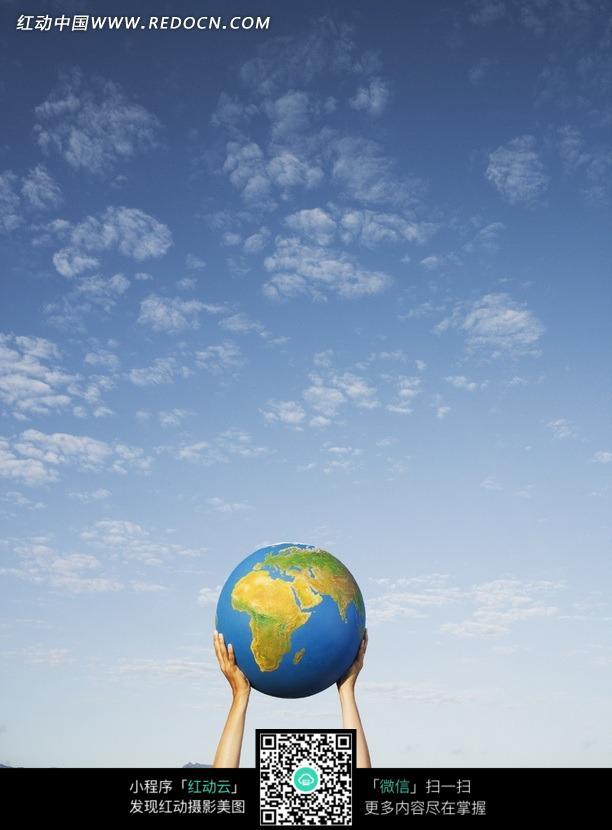 双手托起地球模型图片 现代商务图片 金融图片下载 915421