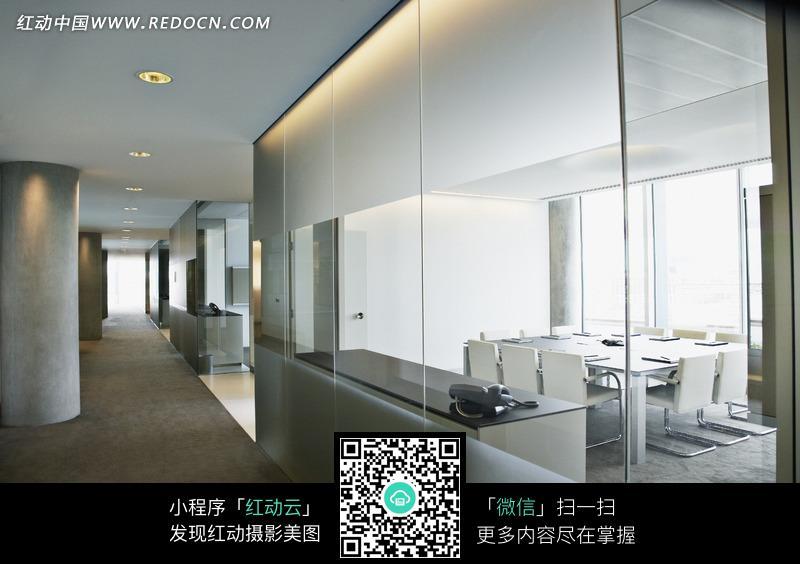 办公室装修效果图图片_建筑设计蓝天背景墙图片白云效果图图片