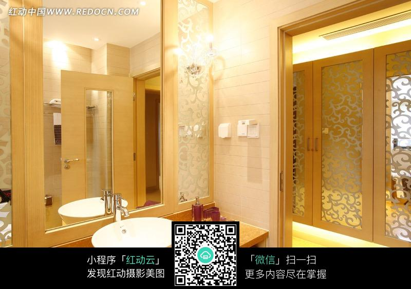洗手间装修效果图_室内设计图片