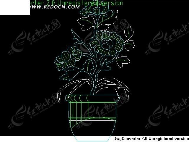 植物cad_cad图库