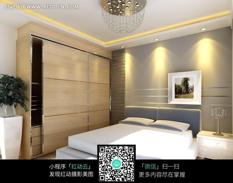 现代简约风格的卧室图片-环境图片|图片库|图库下载