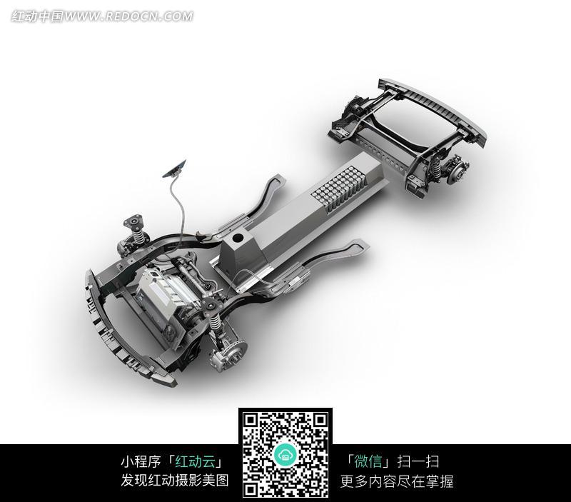 雪佛兰volt电动概念车底盘结构图