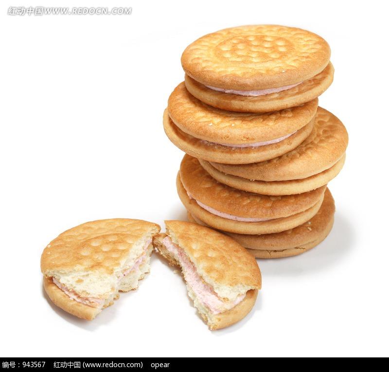 圆形夹心饼干