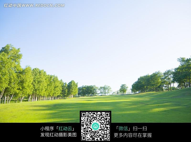 免费素材 图片素材 自然风光 自然风景 草坪和周围树木  请您分享: 红