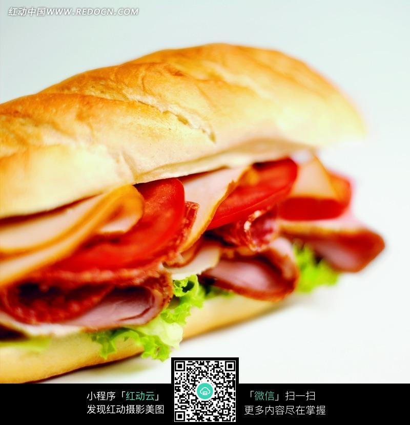 西式快餐热狗摄影图片图片
