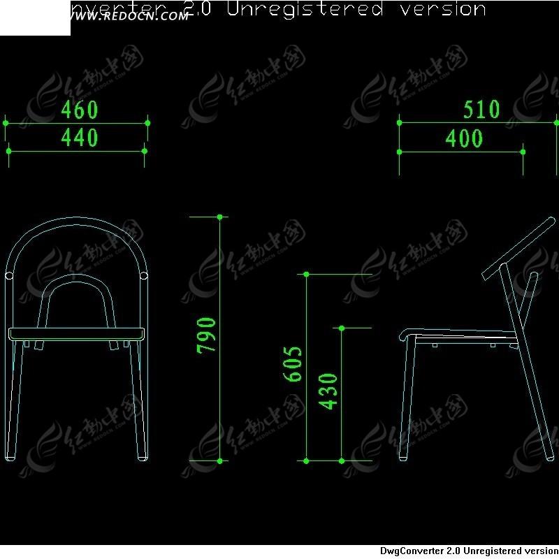 簡中式椅子設計圖
