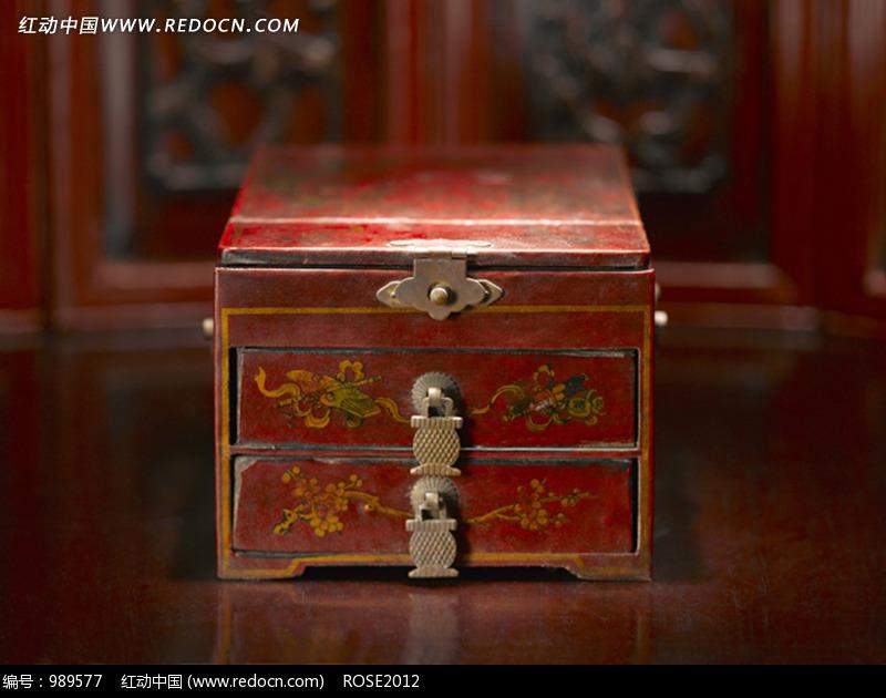 古代双层首饰盒