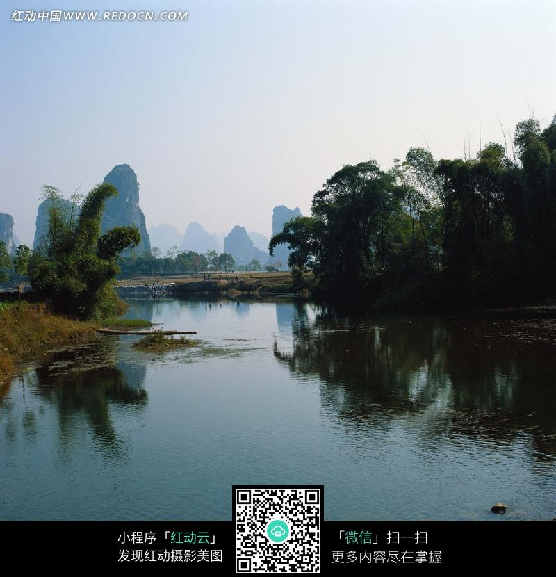 桂林山水阳朔风光摄影图片_自然风景图片_编号990763