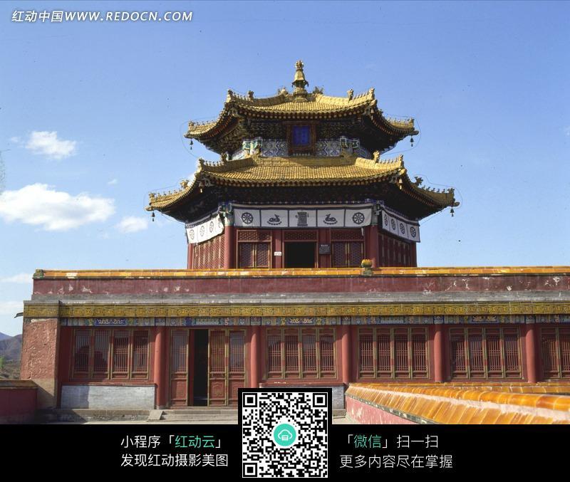 古代宫殿阁楼建筑图片