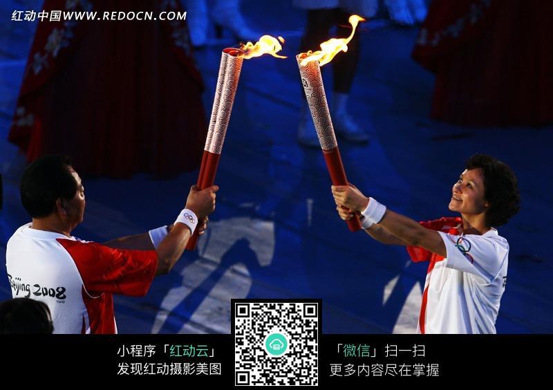 2008北京奥运会火炬高清图片
