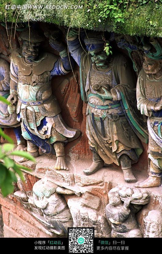 古代神话人物雕塑