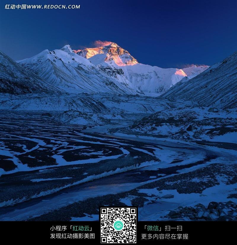 免费素材 图片素材 环境居住 城市风光 巍峨雄壮的珠穆朗玛峰